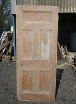 standard 5 panel edwardian door five panel doors began to appear